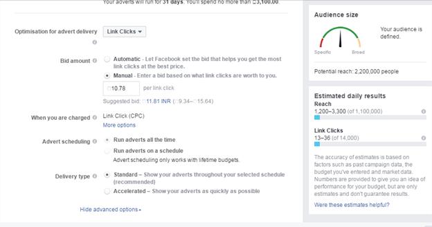 Facebook Bidding