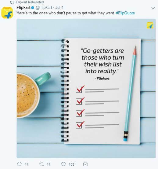 Twitter Conversations Twitter Chats Flipkart