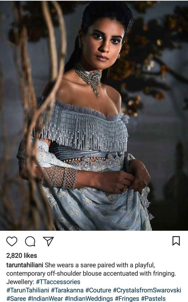 Indian Fashion Designers on Instagram Tarun Tahiliani