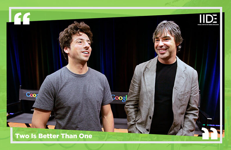 Two Is Better Than One-Google