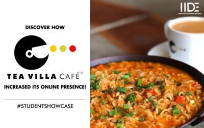 Tea Villa – A Digital Marketing Strategy By Neha Nambiar and Disha Teckani