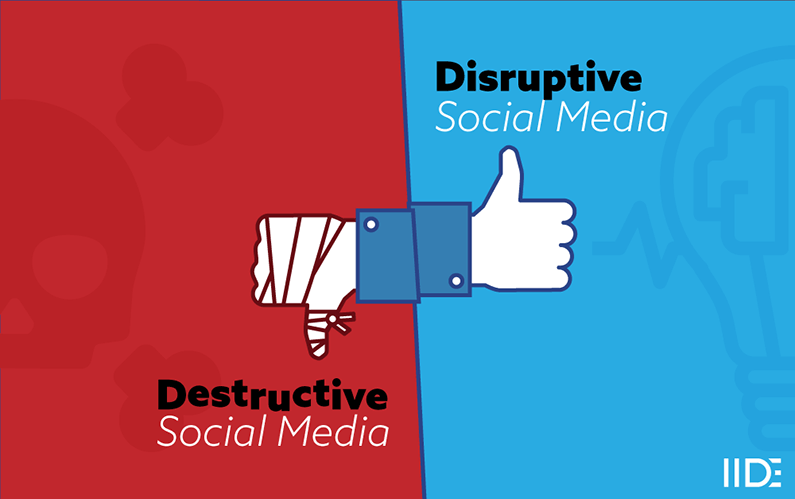 Social Media Essay on its Destructive and Disruptive Effects