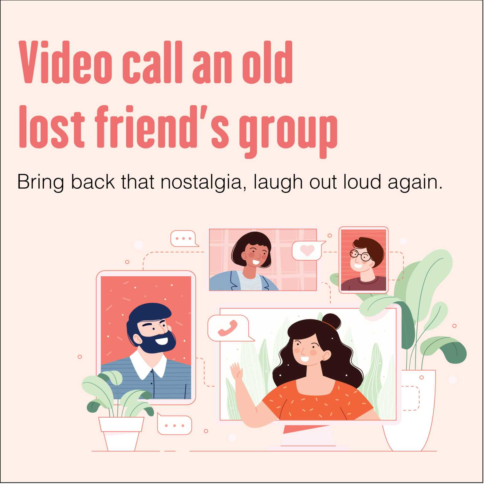 reconnect with friends