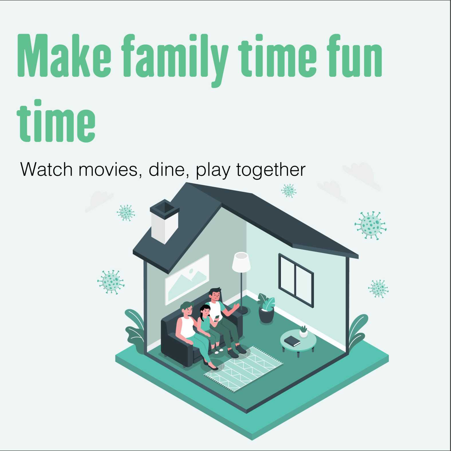 spend time with family