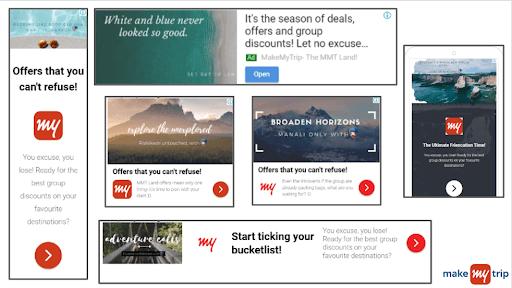 MakeMyTrip Marketing Strategy-Google Ads
