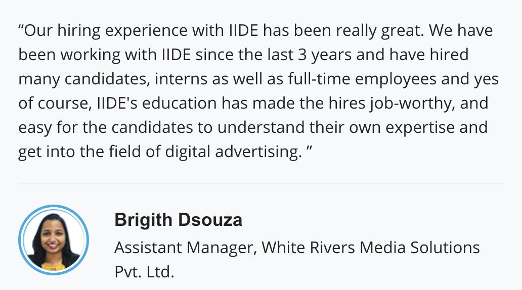 Digital Marketing Team - Hiring Partner Reviews