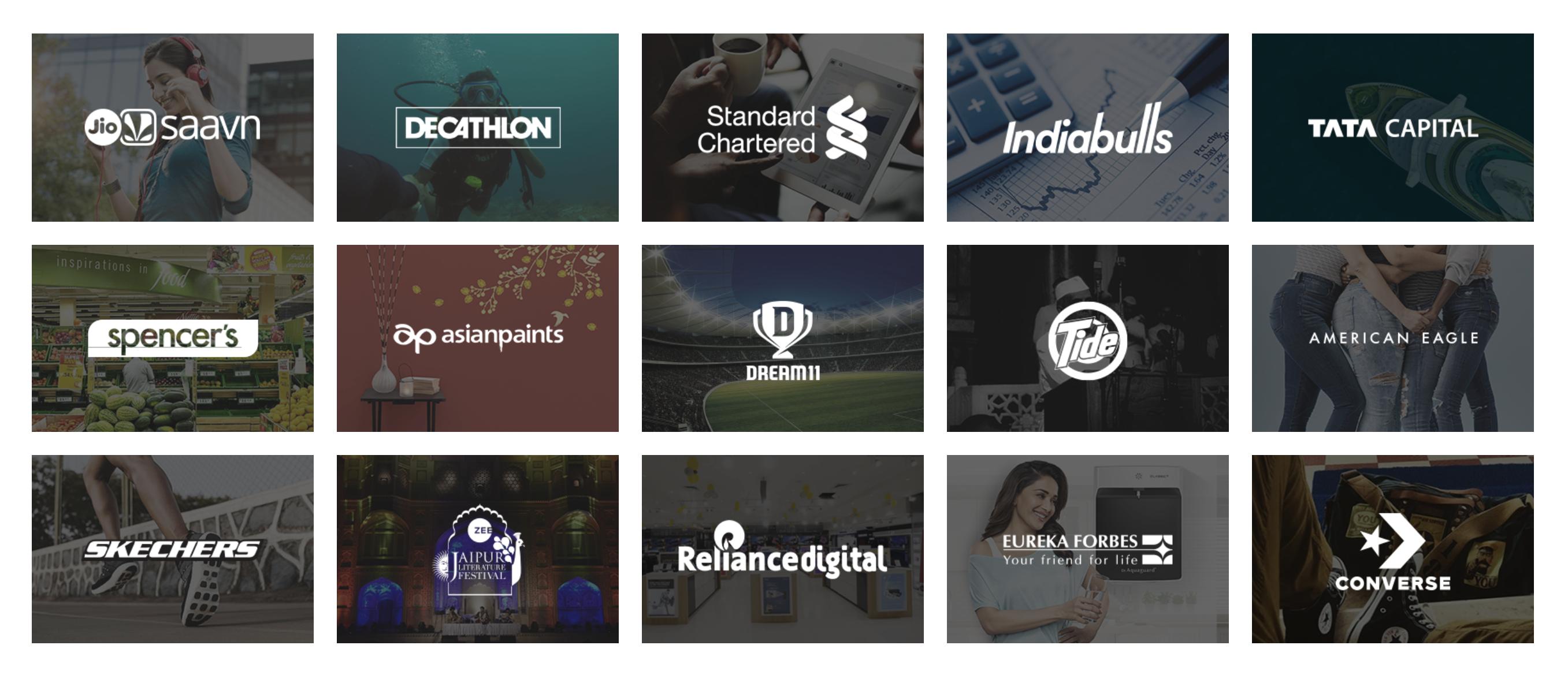 Kinnect Clients - Digital Marketing Agencies in Delhi